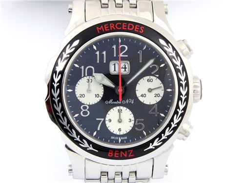 mercedes montre classic chronograph no 4 a900004. Black Bedroom Furniture Sets. Home Design Ideas